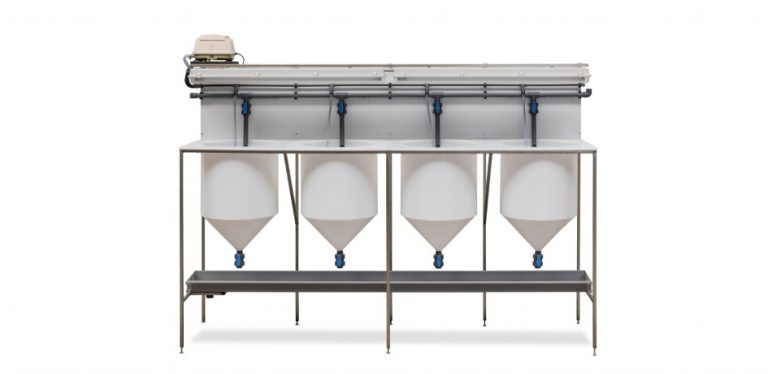 Artemia Hatching System 4 Funnels